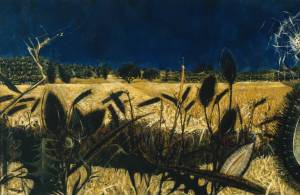 Summer: Young September's Cornfield 1954 by Alan Reynolds born 1926