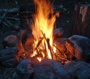 A fire II
