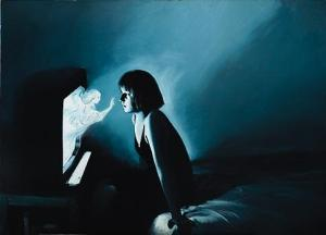 Annunciation-Helnwein